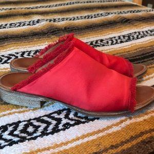 Free People slide sandals